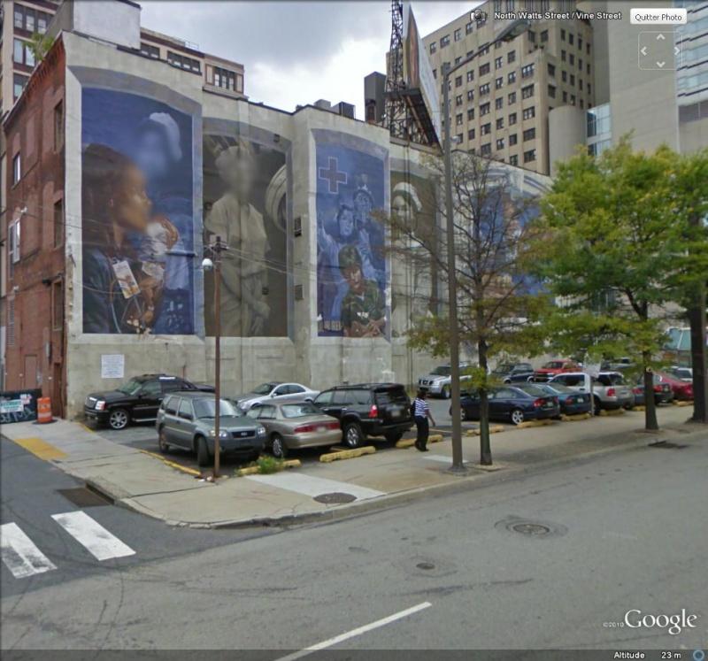 STREETVIEW : les fresques murales de Philadelphie  - Page 3 Hosto211