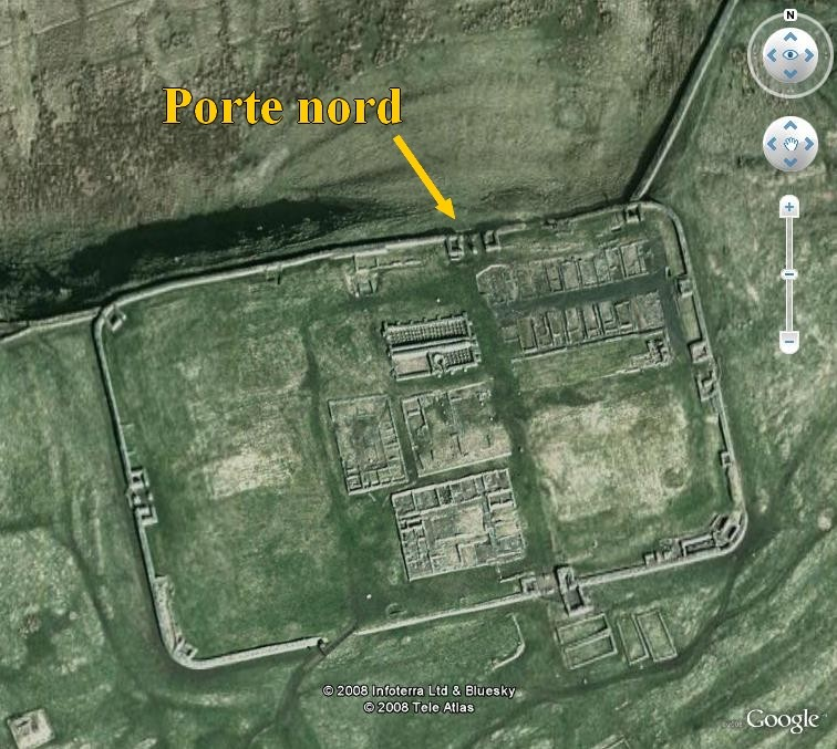 Le Mur d'Hadrien, frontière d'un empire - Page 4 Houses10