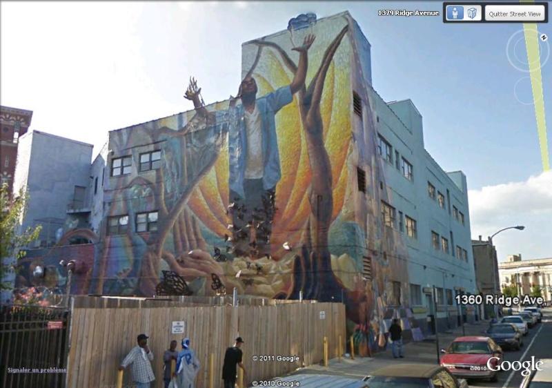 STREETVIEW : les fresques murales de Philadelphie  - Page 3 Metamo10