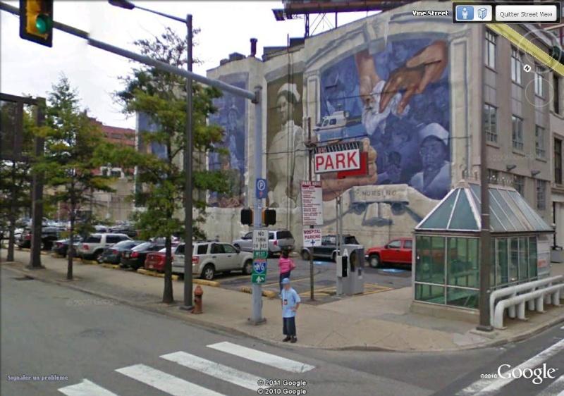 STREETVIEW : les fresques murales de Philadelphie  - Page 3 Nursin10