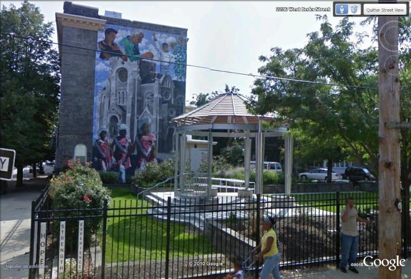 STREETVIEW : les fresques murales de Philadelphie  - Page 3 Projec11