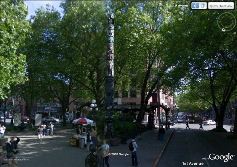 STREETVIEW : les totems - Page 2 Seattl10