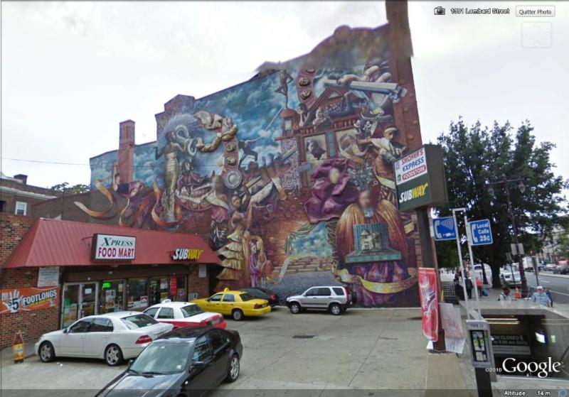 STREETVIEW : les fresques murales de Philadelphie  - Page 2 T_life10