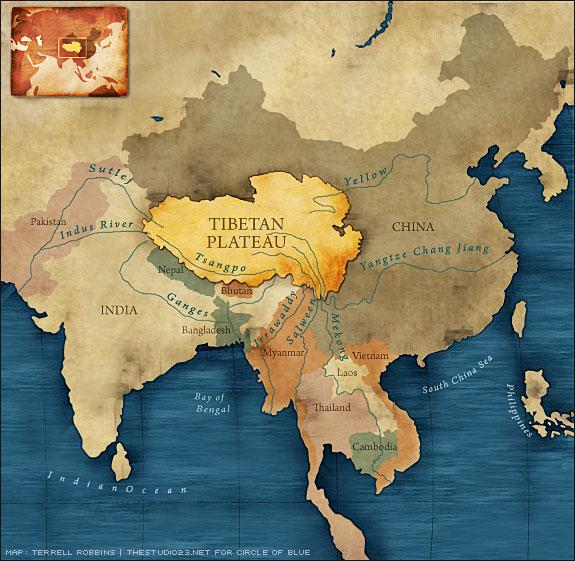 Coup de projecteur sur la Chine et les chinois  Tibet_10