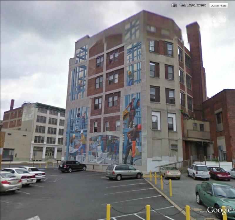 STREETVIEW : les fresques murales de Philadelphie  - Page 3 Tribut10