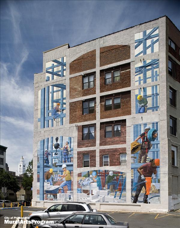 STREETVIEW : les fresques murales de Philadelphie  - Page 3 Tribut11