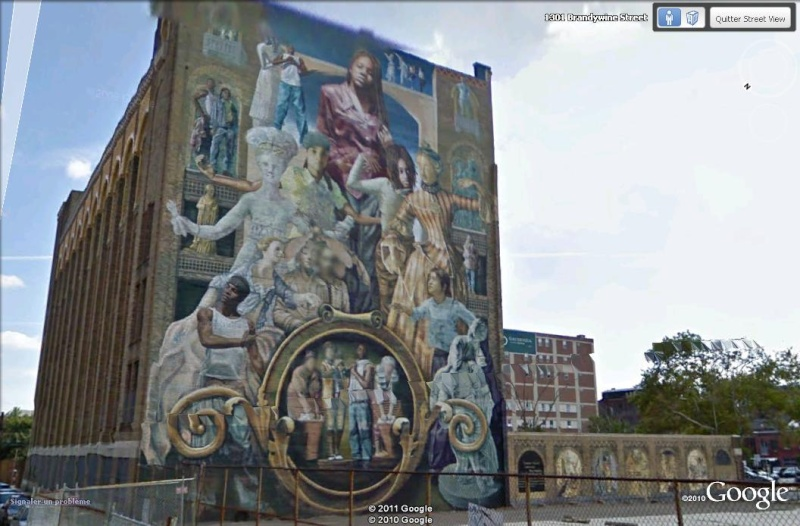STREETVIEW : les fresques murales de Philadelphie  - Page 3 Tribut12