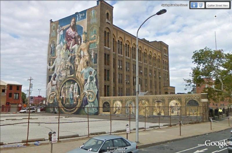 STREETVIEW : les fresques murales de Philadelphie  - Page 3 Tribut13