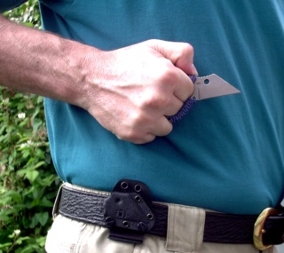THE HIDEAWAY KNIFE Beltsh10