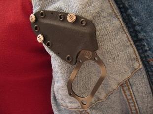 THE HIDEAWAY KNIFE Sheath11