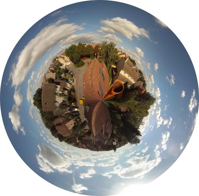 photo panoramique 360° Maison17