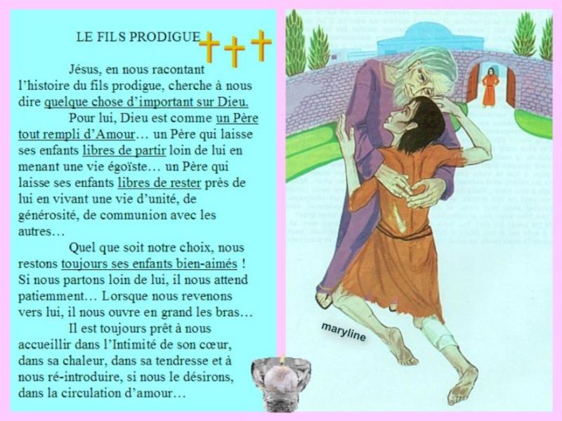 """Dimanche 15 Septembre """"Paraboles de la brebis perdue, de la drachme perdue (et du fils perdu)""""(Lc 15, 1-32) Pizap_39"""