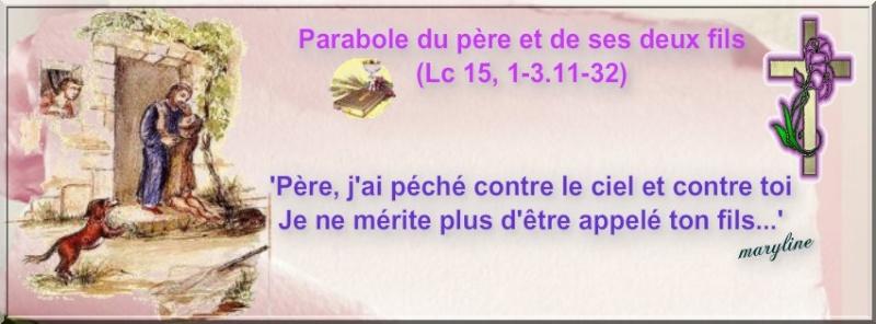 """Dimanche 15 Septembre """"Paraboles de la brebis perdue, de la drachme perdue (et du fils perdu)""""(Lc 15, 1-32) Pizap_40"""