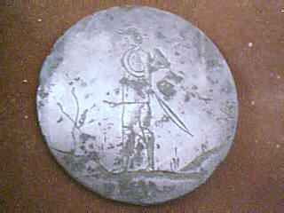 Bouton de vènerie bronze blanc - XIXème Image_12