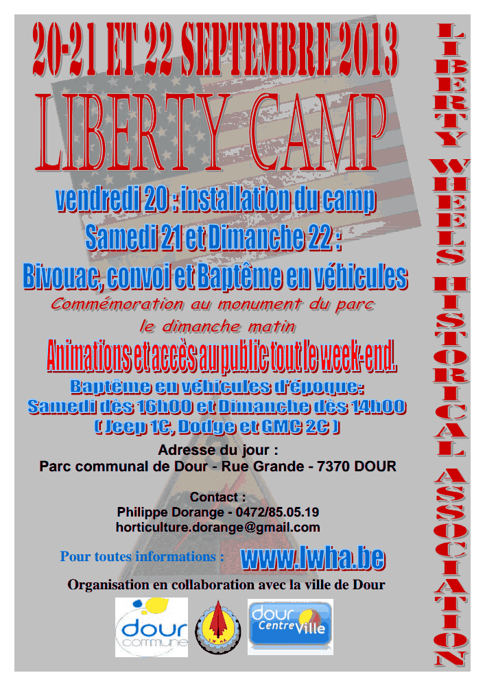 Liberty Camp 2013 Affich11