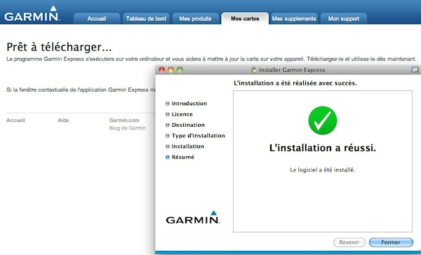 GarminExpress et MacOS (anciennes versions) Captur19