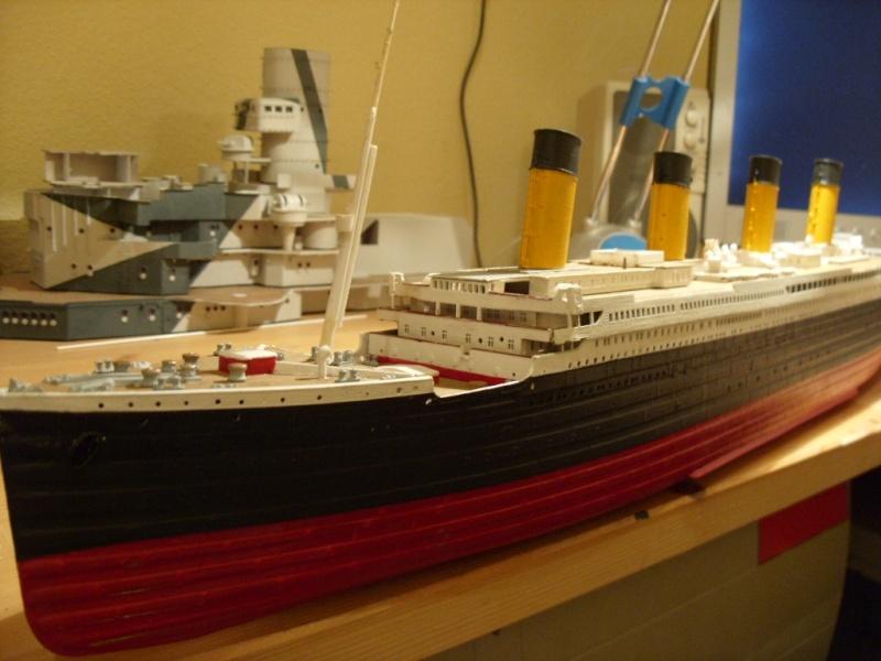 Titanic 1:350 Restauration und umbau zum Rc Modell Titani11