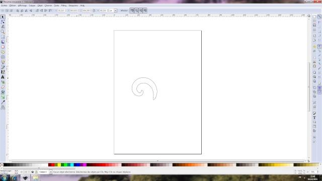 Dessiner une arabesque dans Inkscape Imprim10