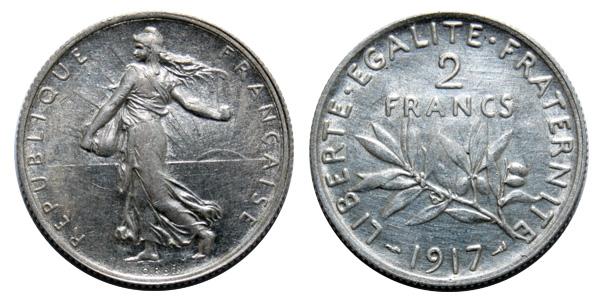 Billets et pièces de monnaie: les Francs à bord du Titanic 2-fran10