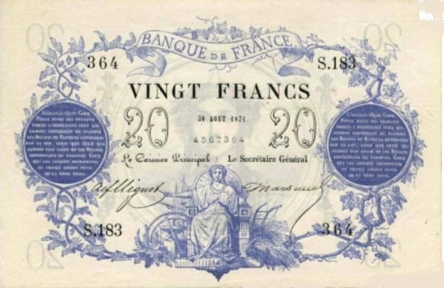 Billets et pièces de monnaie: les Francs à bord du Titanic France11