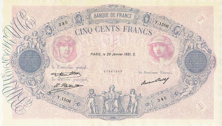 Billets et pièces de monnaie: les Francs à bord du Titanic France14
