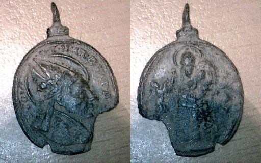 Médaille St-Thomas de Villanova (Villeneuve en français) - XVIIème Image110