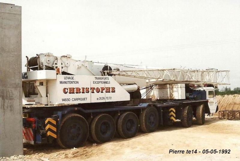 Les grues de CHRISTOPHE levage (France) 1992-011