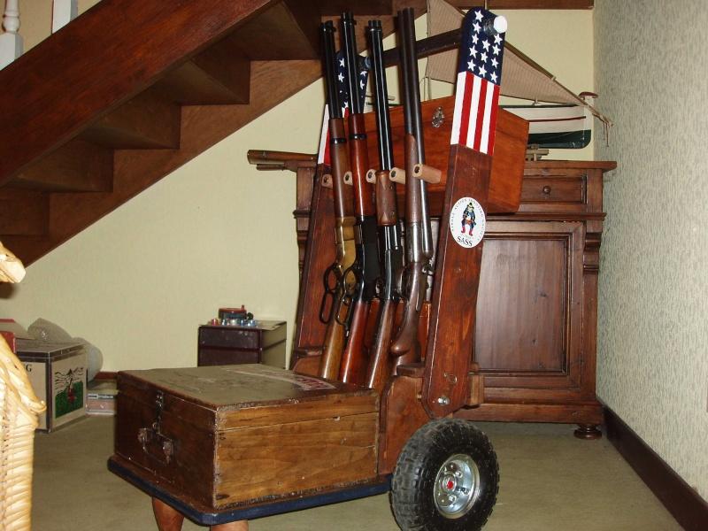 Mon Gun cart presque terminé Pa290010