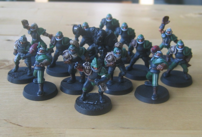 Blood Bowl human team Team110