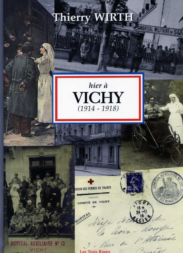 LES HÔPITAUX MILITAIRES A VICHY PERIODE 1914 / 1918 Img47610
