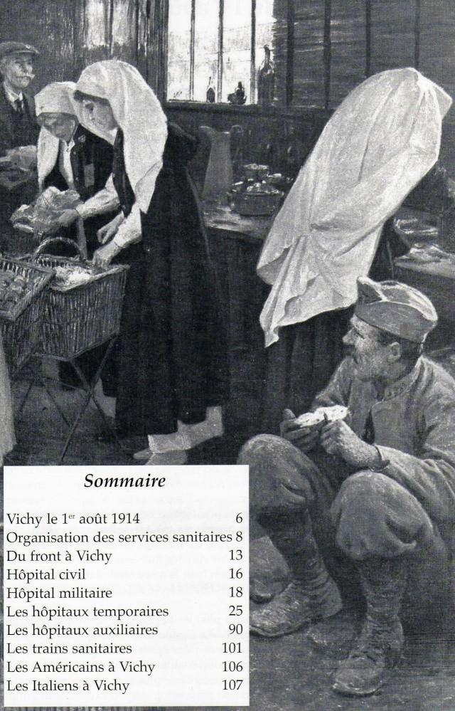LES HÔPITAUX MILITAIRES A VICHY PERIODE 1914 / 1918 Img47910