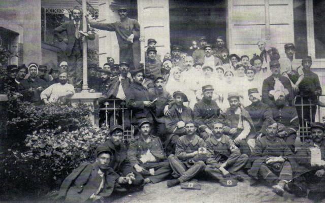 LES HÔPITAUX MILITAIRES A VICHY PERIODE 1914 / 1918 Img48210