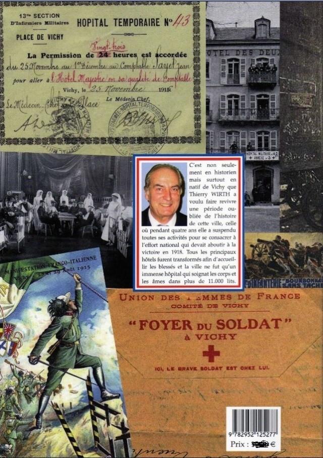 LES HÔPITAUX MILITAIRES A VICHY PERIODE 1914 / 1918 Vichy_10