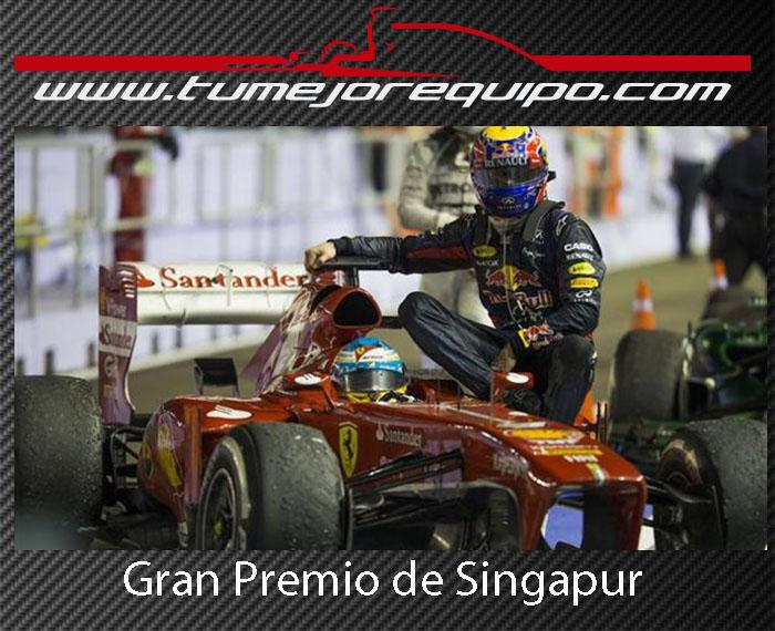 G.P de Singapur - Crónica de la Carrera Cronic10