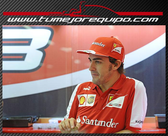 """Fernando Alonso: """"Pelearé por el título hasta que sea matemáticamente posible"""" Jue_al10"""