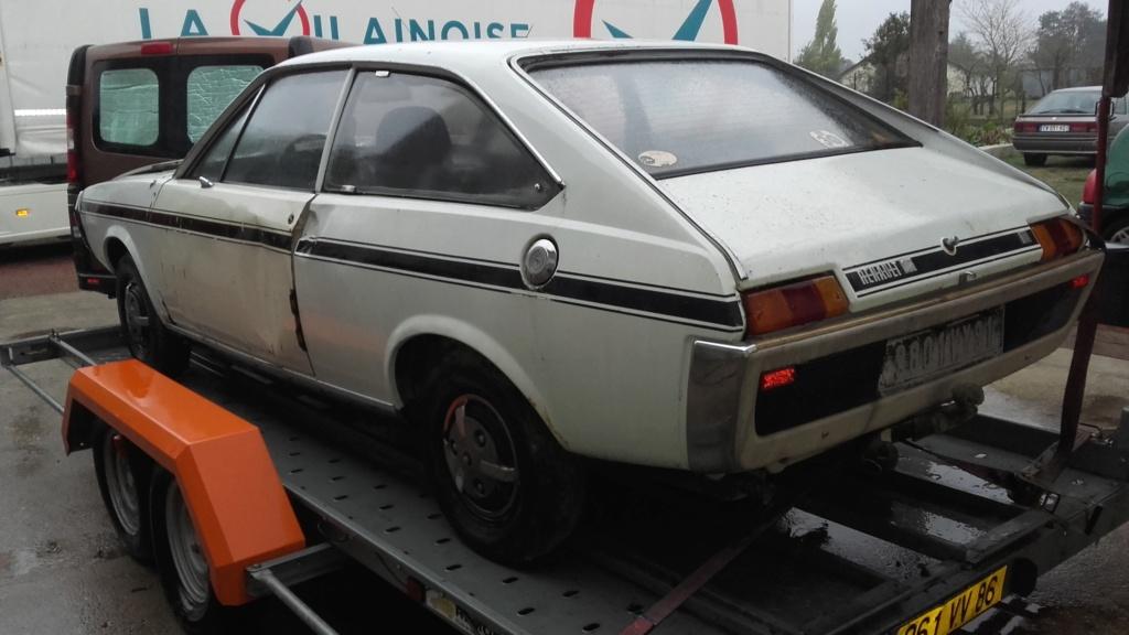 Une nouvelle acquisition : Renault 15 TS 00811
