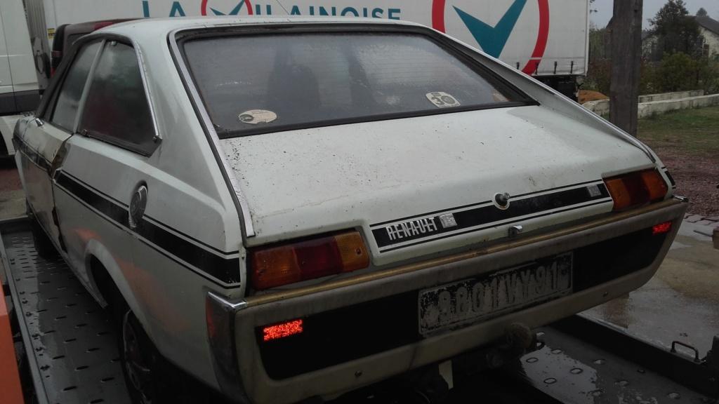 Une nouvelle acquisition : Renault 15 TS 00910