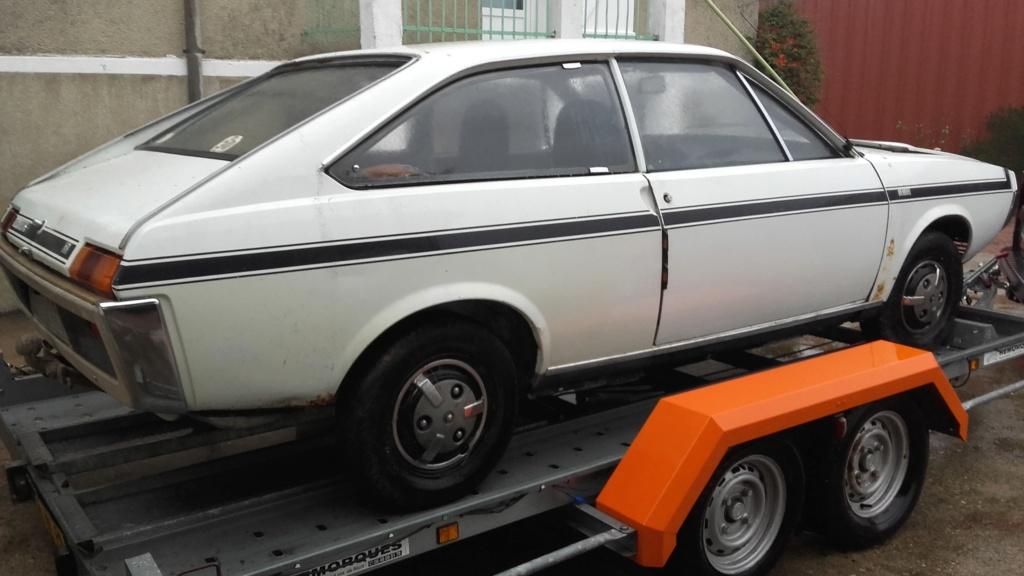 Une nouvelle acquisition : Renault 15 TS 01110