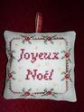 """Deux """"pendouilles"""" pour Noël ................................... 2009 ! Joy_no10"""