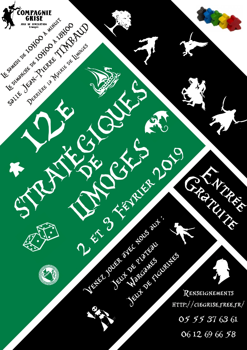 12e Stratégiques, le 2 et 3 Février 2019 Strate11