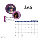 Stéphanie - calendrier 2011 Janvie10