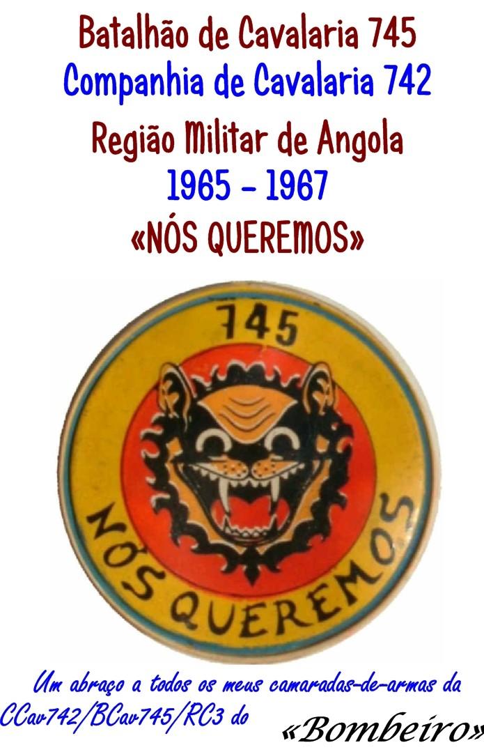 Companhia de Cavalaria 742 do Batalhão de Cavalaria 745 Angola 1965-1967 Ccav7410