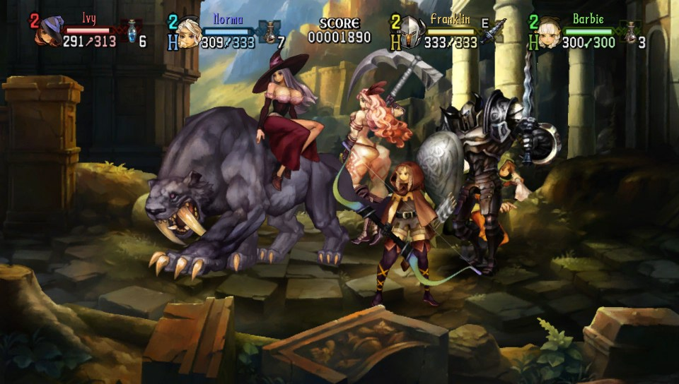 Dragon's Crown (PS3 / PS4 / PSV) - Page 2 2013-010