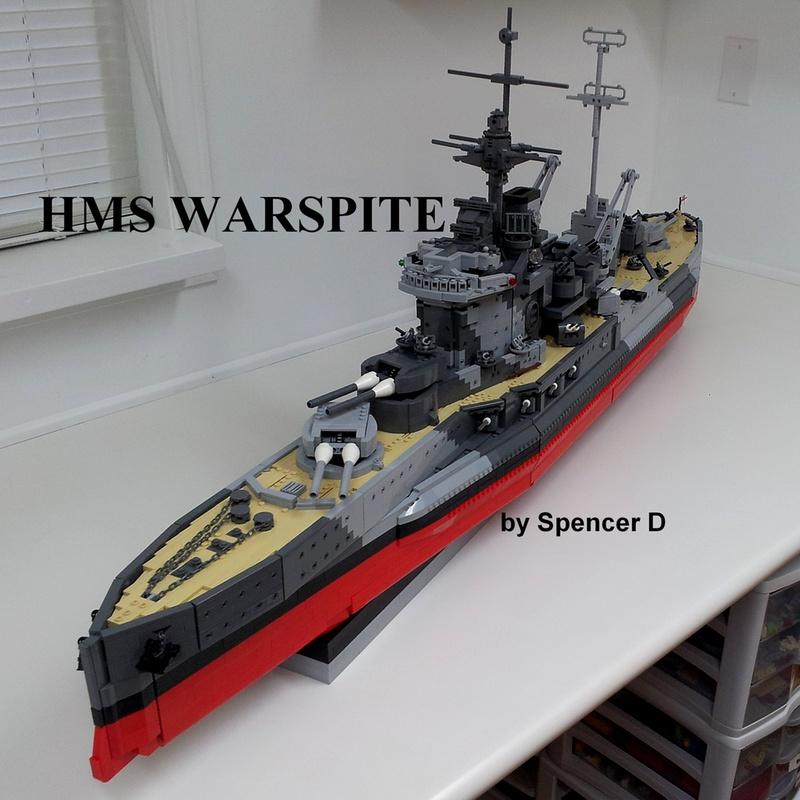 navires reproduits en lego 13696110