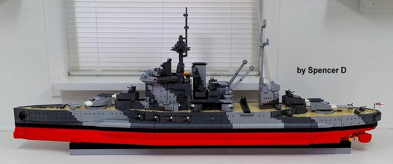 navires reproduits en lego 13696111
