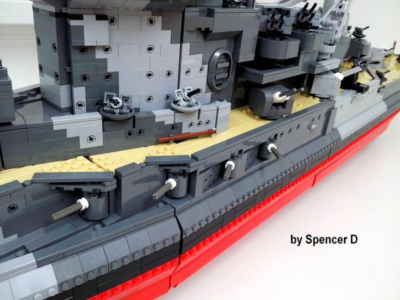 navires reproduits en lego 13696114