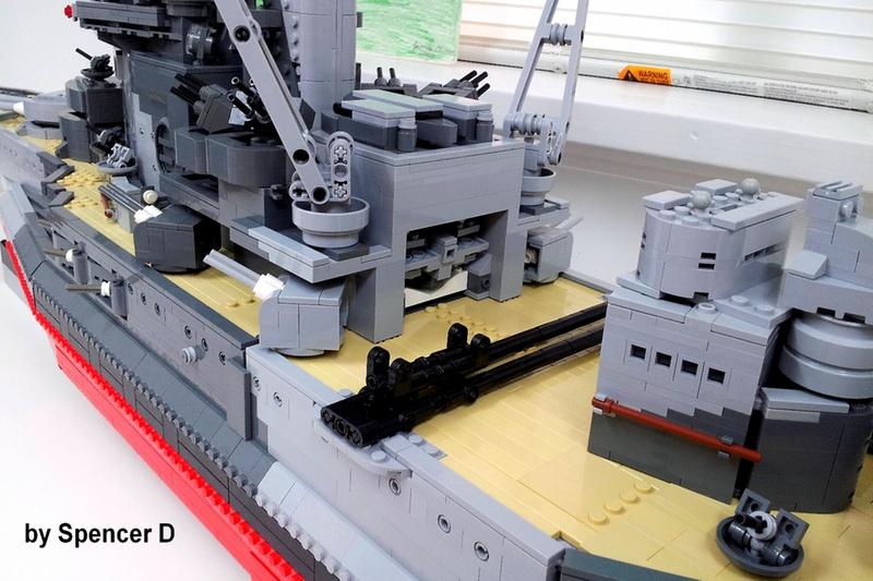 navires reproduits en lego 13696116