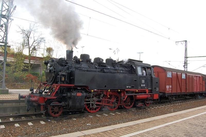 Die 64 419 im Bahnhof Waiblingen 0511