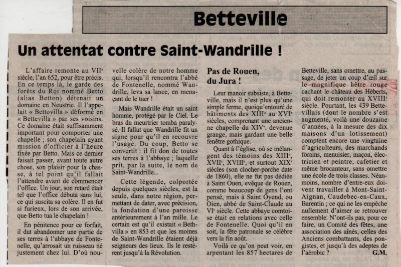 Histoire des communes - Betteville Bettev10