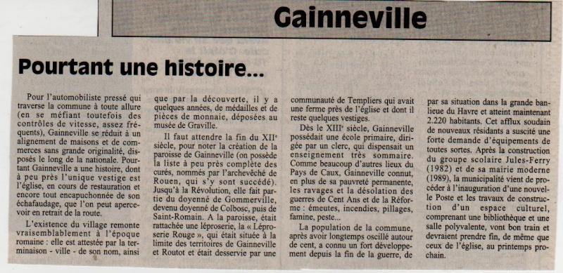 Histoire des communes - Gainneville Gainne10